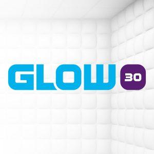 Glow 30 dit weekend alleen online