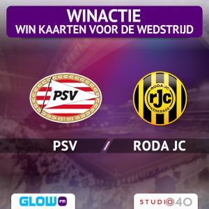 (AFGELOPEN) Scoor voetbalkaarten voor PSV – Roda JC