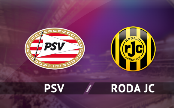 Scoor voetbalkaarten voor PSV – Roda JC
