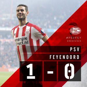 PSV klopt Feyenoord (1-0) samengevat in 5 minuten