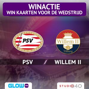 (AFGELOPEN) Scoor tickets voor PSV – Willem II