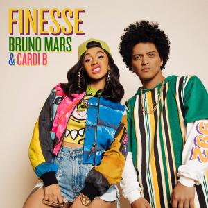Bruno Mars is fan van rapper Cardi B. en maakt track met haar