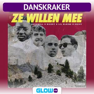 Danskraker 31 maart 2018: Hardwell x Bizzey x Lil Kleine x Chivv – Ze Willen Mee