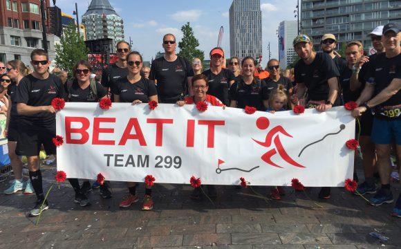 Team Beat It uit Veldhoven heeft genoten van Roparun