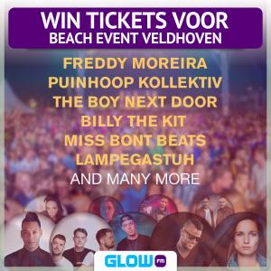 (AFGELOPEN) Scoor tickets voor het leukste strandfeest van Veldhoven