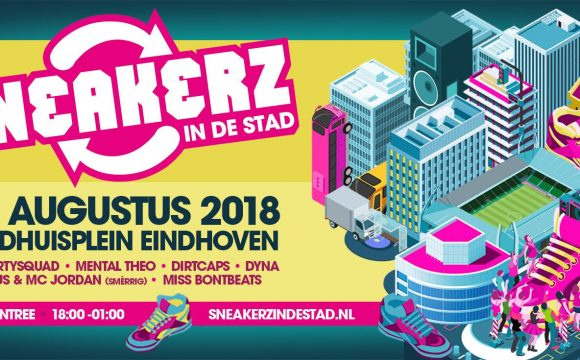 Stem Patrick naar Sneakerz in de Stad