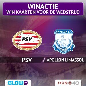 Win kaarten voor PSV – Apollon Limassol