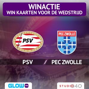 Win kaarten voor PSV – PEC Zwolle [afgelopen]