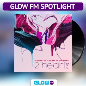 4 mensen, maar '2 Hearts' als Glow FM Spotlight…