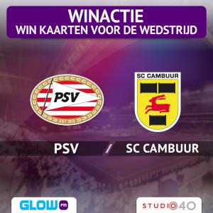 Win kaarten voor PSV – SC Cambuur